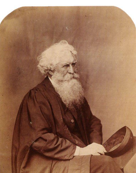 Portrait of Thomas Combe. 1860.