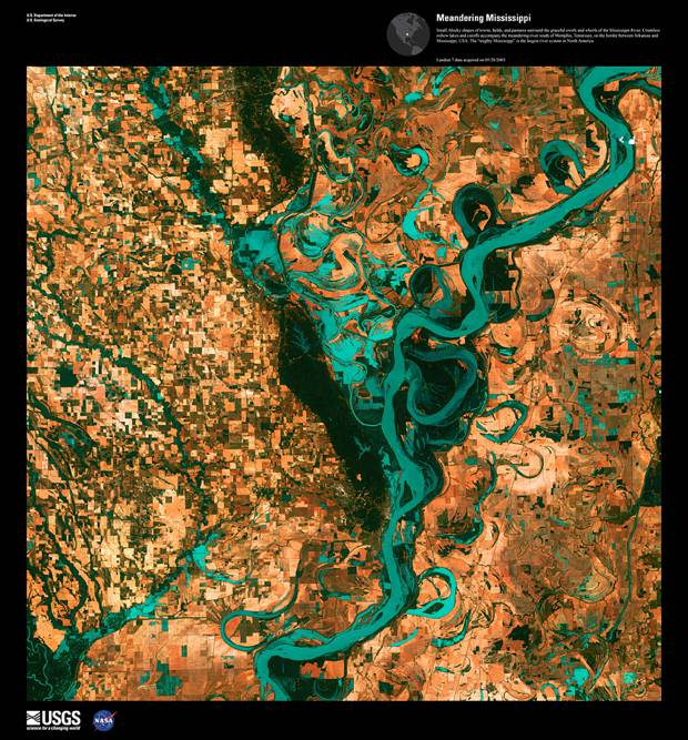 Meandering Mississippi, May 28th, 2003