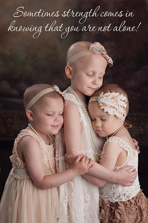 Touching Portraits of 3 Young Girls Battling Cancer Help Inspire and Raise Awareness
