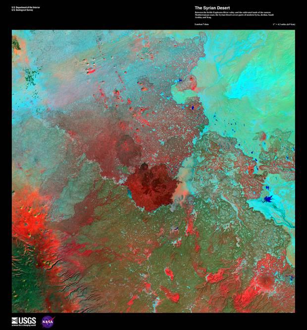 The Syrian Desert, January 1st, 1999
