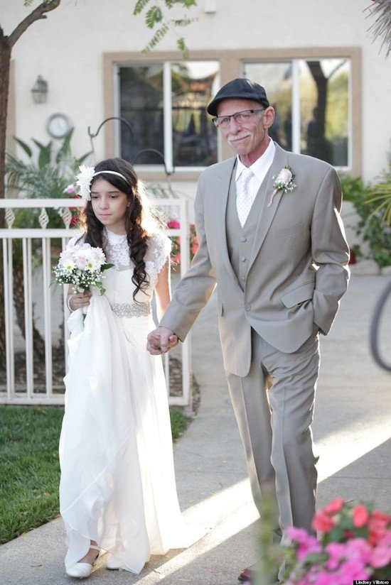 Photographer Gives 11 Year Old The Gift Of A Walk Down Aisle