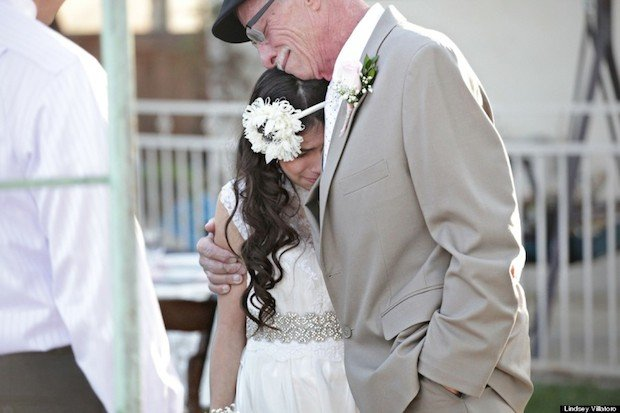 Photographer Gives 11-Year-Old the Gift of a Walk Down the Aisle with Her Dying Dad