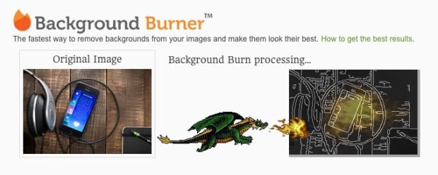 Background Burner: A Web App That Cuts Out Subjects in Photos