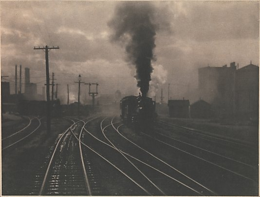 The Hand of Man by Alfred Stieglitz, 1902. Currently available as part of The Met's collection.