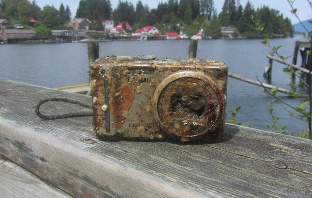 Camera and Memory Card Found After Two Years in the Pacific, Photos Still Intact!