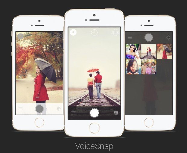 VoiceSnap Lets You Snap iPhone Photos Using Voice Commands