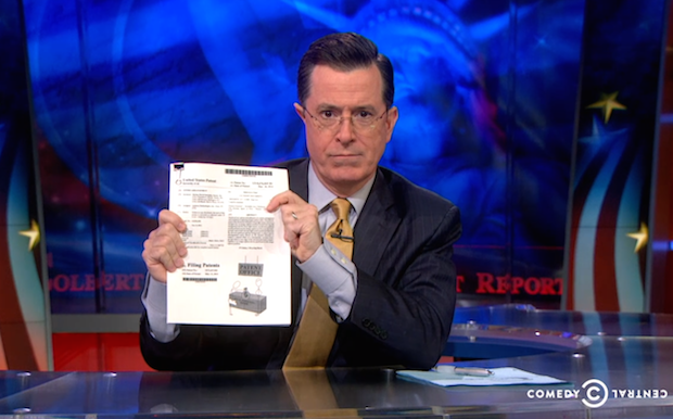Stephen Colbert Goes After Amazon and Its Ridiculous Photography Patent