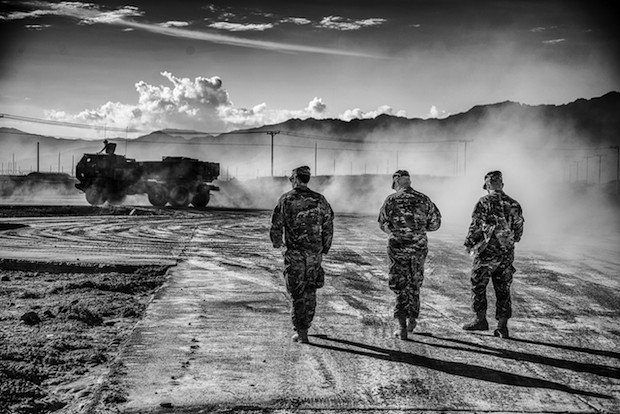 National Guard Soldier Brings Back Artistic Photos from His Time in Afghanistan