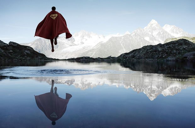 Lonely Outdoor Portraits of Superheroes by Photographer Benoit Lapray