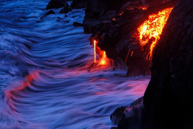 7 Photo Tips for Capturing Epic Lava Shots 100% In-Camera
