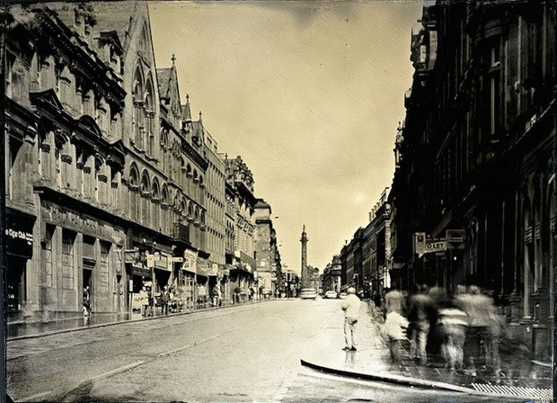 Modern-Day Street Photographs of England Captured with a 130-Year-Old Camera