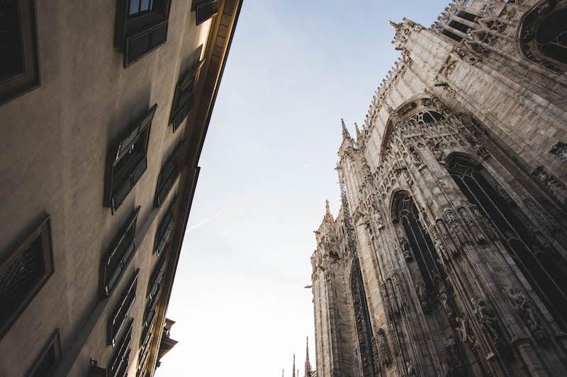 Rokinon 12mm f/2.0 NCS CS -- Piazza Duomo, Milan, Italy