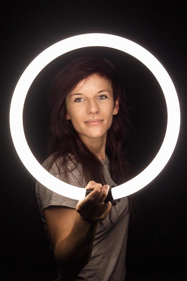 Ring Flash Light Beauty
