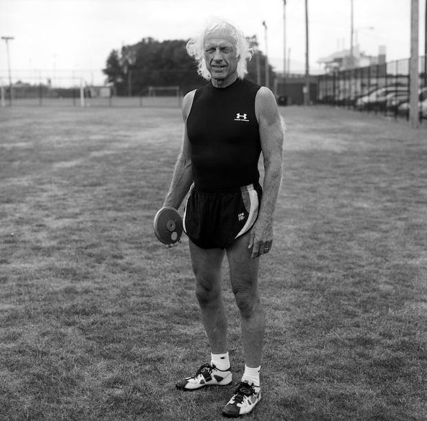Gehrett, 74. Discus thrower.