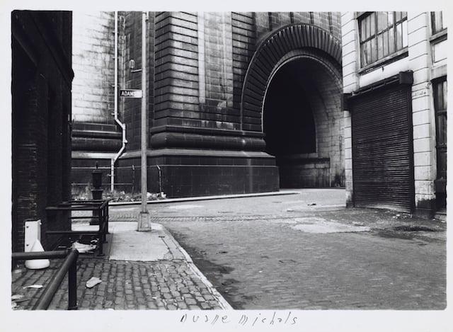 Empty New York, c. 1964 Vintage gelatin silver print 5 7/8 x 7 1/4 inches (paper)
