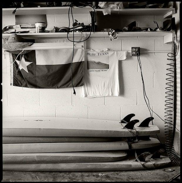 Surfer's Garage, South Padre Island, 2007.