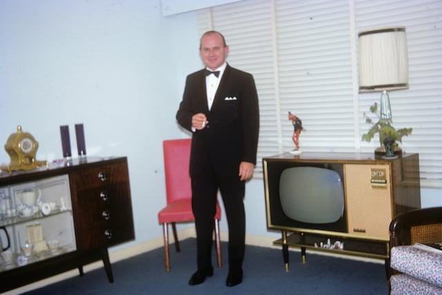 This is Grandpa - Stephen Clarke. Pretty sure it was taken in his house in Brisbane, Australia.