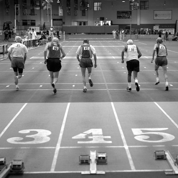 55 meter sprinters. 85-89.