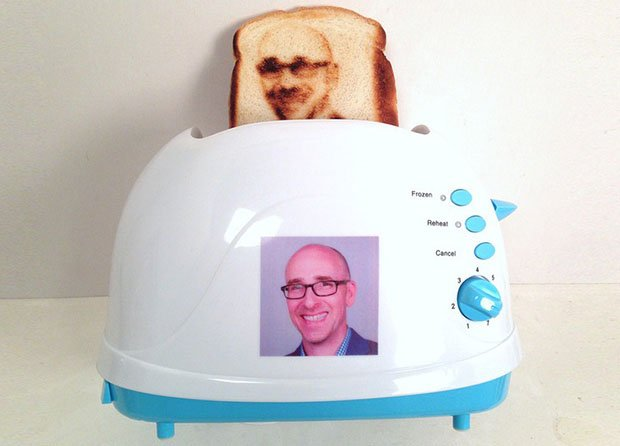 This Selfie Toaster Can Burn Your Portrait Onto Your Morning Toast