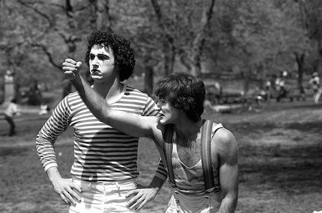 Photographer Photographs Two Mimes in 1974, Only Realizes 35 Years Later that One Was Robin Williams