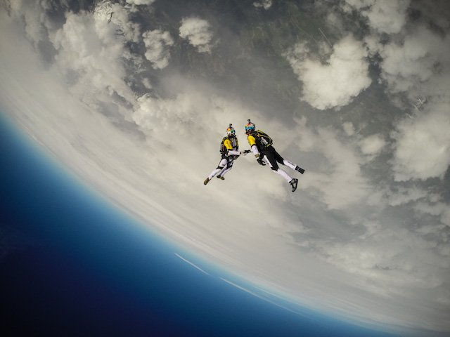 Capturing a Handshake at 33,000ft for Red Bull