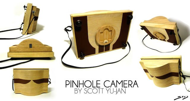 A Gorgeous Wooden DIY Pinhole Camera That Carpenters And Photographers Alike Can Be Proud Of