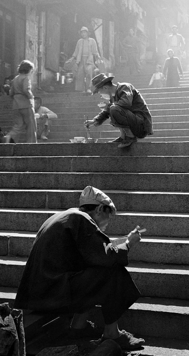Fan Ho's Fantastic Black-and-White Street Photographs of