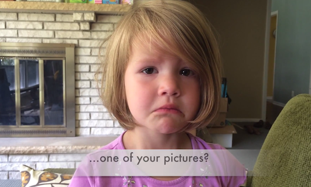 Video: Little Girl Devastated After Discovering that the Photo She Deleted is Gone Forever