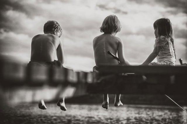 polnische Kinder im Sommer - pure Freiheit