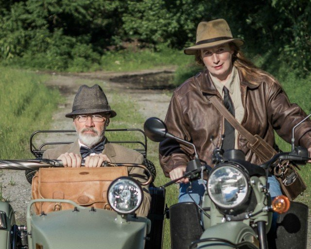 Creative Couple Pose as Indy and Professor Jones for Viral 21st Anniversary Pic