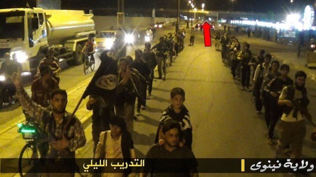 Crowd-Funded Journalists Geo-Locate ISIS Training Camp Using the Militants' Own Photos