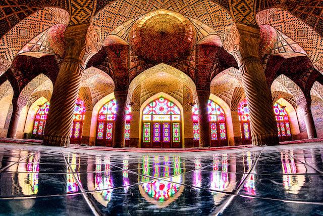 nasir-almulk fisheye - Shiraz