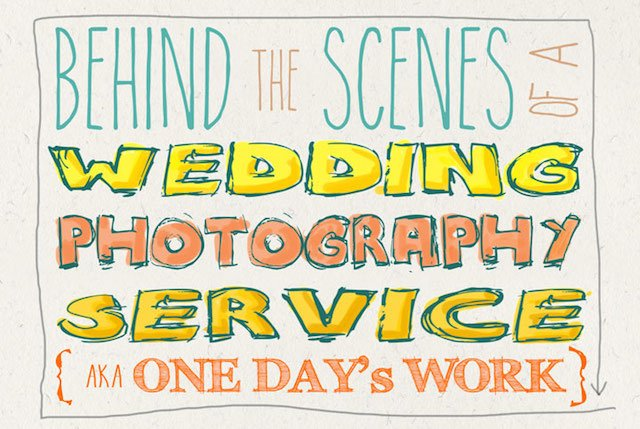 Clever Infographic for Brides Reveals All of the Little Known Costs of Being a Wedding Photographer