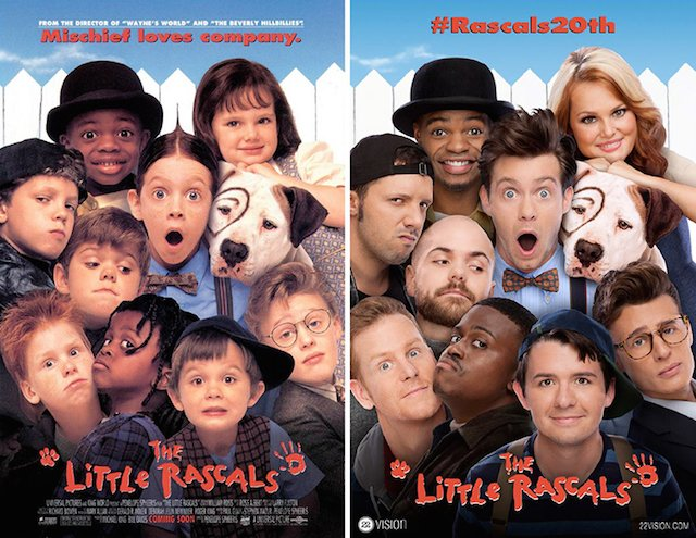 'The Little Rascals' Movie Poster Reshot for the Comedy's 20th Anniversary Reunion