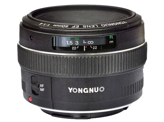 Yongnuo Expanding into Lenses, Shows Off a Canon 50mm f/1.4 Clone