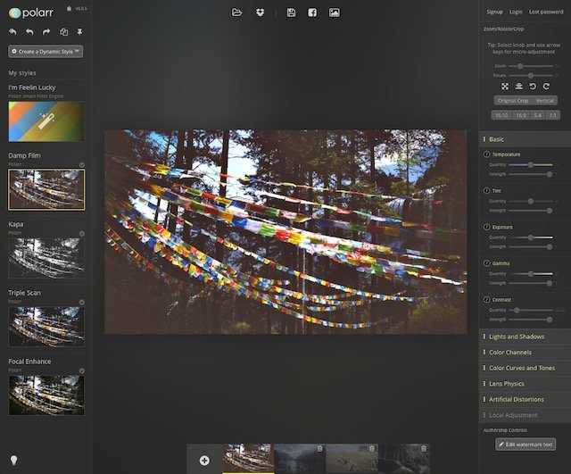 Polarr is a Smart and Versatile Browser-Based Photo Editor that Learns Your Technique