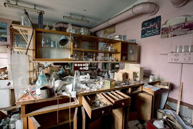 RUSSIA - Chemical Laboratory