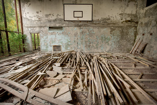UKRAINE - Chernobyl Sports Centre 01