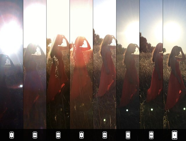 Side-by-Side Comparison of All Eight iPhone Cameras, or: Why the 6 ...