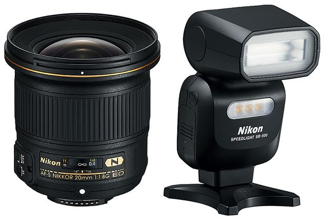 Nikon Unveils A Wide And Fast 20mm F 1 8 Prime Lens And A