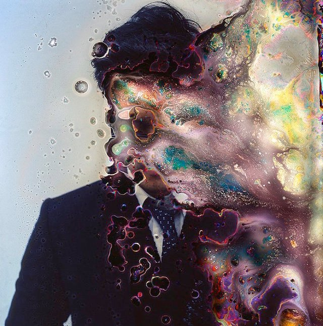 Photographer Immerses His Film in Live Bacteria for Years to Create Unique Portraits
