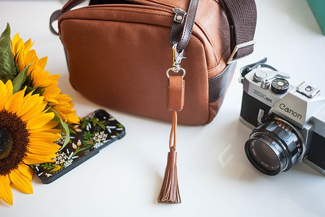This Stylish Leather Tassel is Actually a USB Charging Cable in Disguise