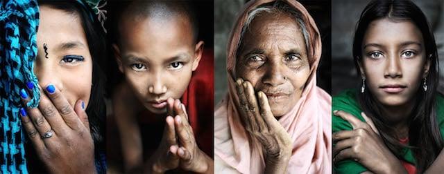 Bhutan, Myanmar, Bangladesh, Bangladesh