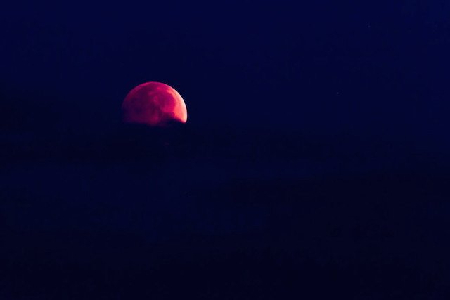 "Lunar Eclipse ""Blood Moon"" taken October 8, 2014"