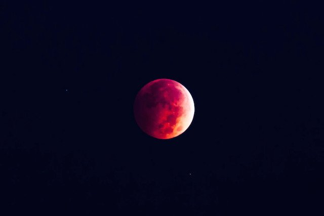 "The ""Blood Moon"" taken October 8, 2014"