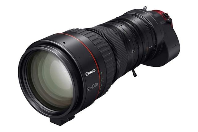 Canon Reveals 'World's Longest' 4K Cine Lens: A 50-1000mm Monster that Costs $78K