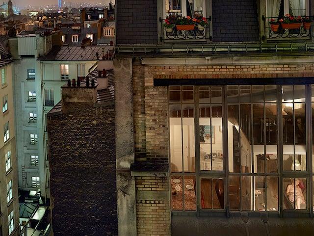 Gail Albert Halaban, Rue de Douai, 9th arrondissement, Paris, from Gail Albert Halaban: Paris Views (Aperture, 2014)