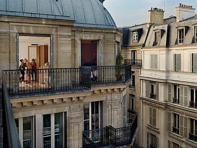 Gail Albert Halaban, Quai Anatole-France, 7th arrondissement, Paris, from Gail Albert Halaban: Paris Views (Aperture, 2014)
