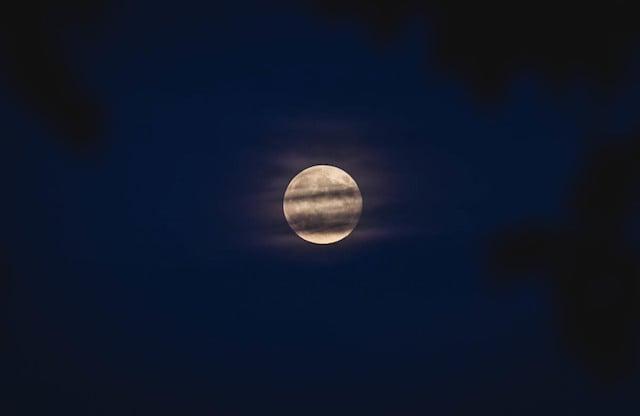 The Super Moon taken August 10, 2014