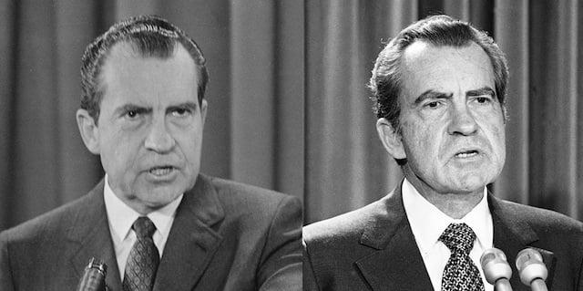 Richard Nixon in 1969 and 1973